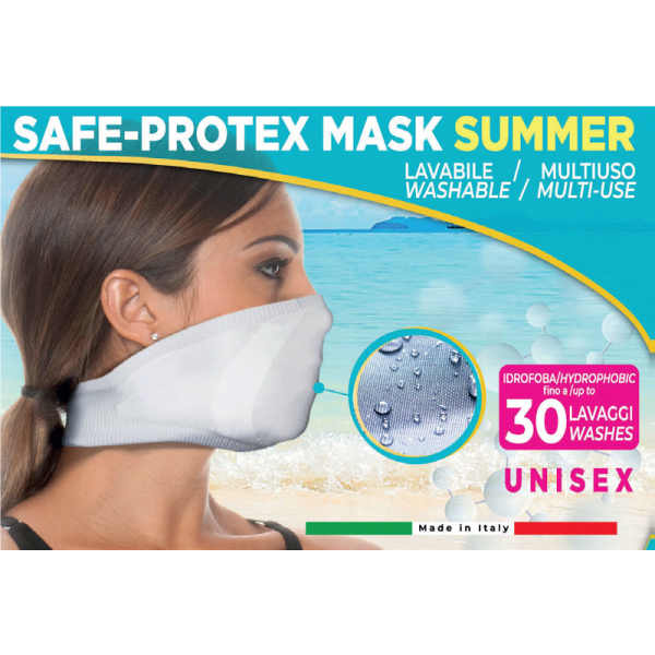 MASCHERINA LAVABILE - SAFE PROTEX MASK SUMMER