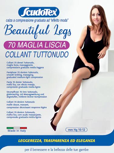 COLLANT 70 DEN. MAGLIA LISCIA TUTTONUDO